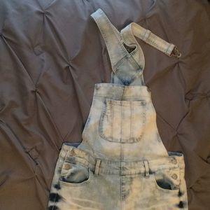 Denim - Light denim overalls